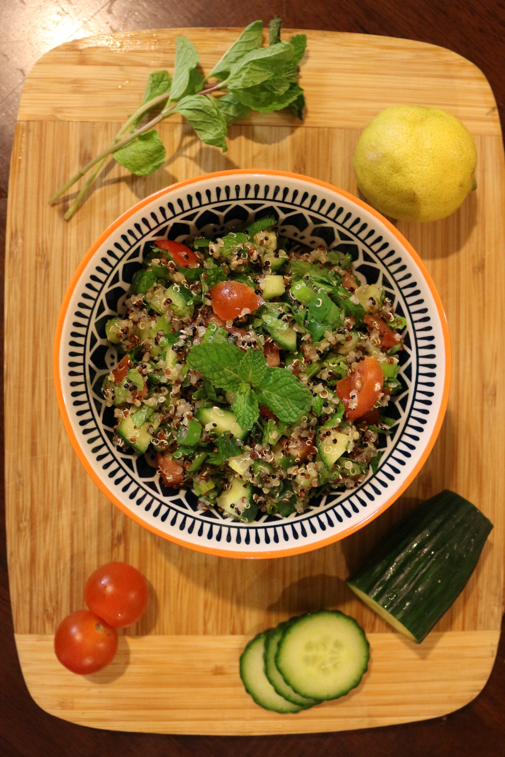 Vegan and Gluten-Free Tabbouleh