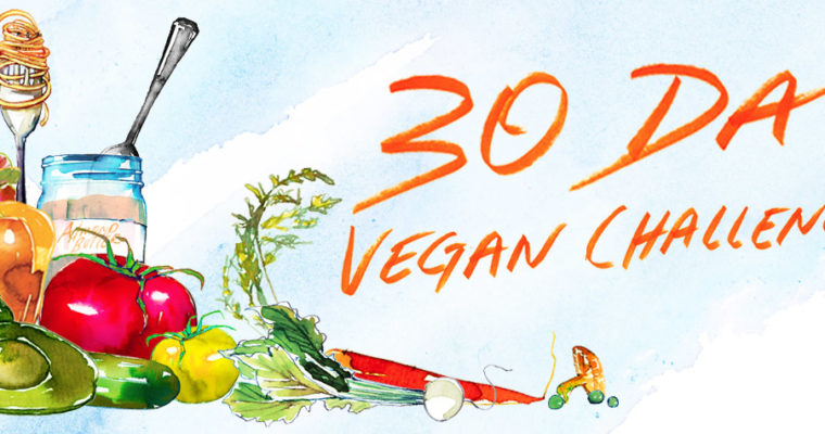 The 30 days vegan facts challenge