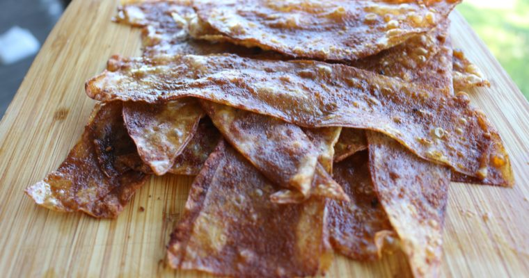 Perfect vegan bacon strips